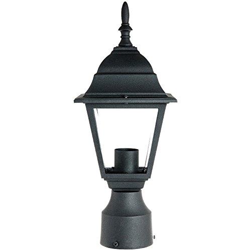 Outdoor Lamp Post Amazon: Sunlite ODI1150 15-Inch Decorative Light Post Outdoor