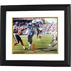 Vince Young Autographed Hand Signed Tennessee Titans 16x20 Photo Custom Framed TD... by Hall of Fame Memorabilia