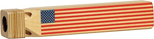 Train Whistle with Flag Print - Made in USA - 1
