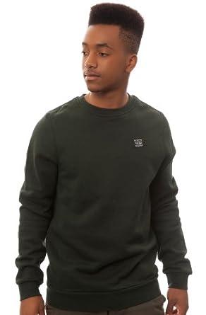 Emerica Men's Standard Issue Crewneck Sweatshirt Extra Large Forest