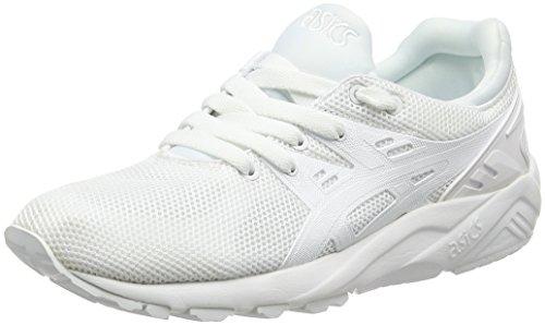Asics Gel-Kayano Trainer Evo - Scarpe Running Unisex - Adulto, Bianco (White/White), 43.5 EU