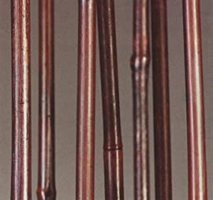 Green floral crafts mahogany bamboo poles 3 for Where to buy bamboo sticks for crafts