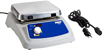 "Frey Scientific 1324337 Advanced Aluminum Top Hot Plate, 7 x 7"" Size"