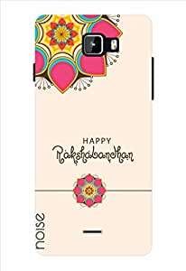 Noise Happy Rakshabandhan-Card Design Printed Cover for Micromax Canvas A311