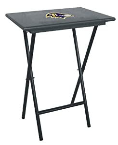 NFL Baltimore Ravens Set Of Four Wood TV Trays by Imperial