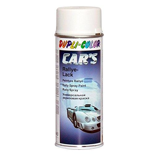 DupliColor 651953 Cars Lackspray, 400 ml, Weiss Matt  Farbendepotde[R