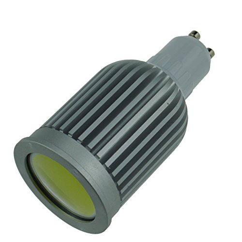 Generic 7W Warm White Cob Led Light Bulbs 550 Lumens Gu10