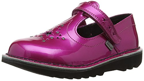 Kisses Kick T Star - Ballerina, Dark Pink, taglia taglia inglesa 6 UK Child