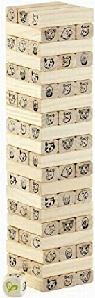 HAPE INTERNATIONAL Hape Eco Toys / Tumbling Jungle Stacked Tower Game at Sears.com