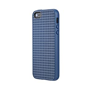 Speck Products PixelSkin HD Rubberized Case for iPhone 5/5s - Retail Packaging - Harbor Blue