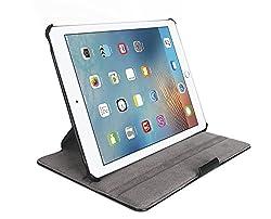 ProElite Heat Setting Smart Flip case cover for Apple iPad Air 2 / iPad 6 [Black] (Sleep/Wake)