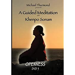 Michael Thurmond presents: A Guided Meditation with Khenpo Sonam OPENNESS DVD 3