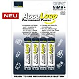 "AccuPower AccuLoop AAA 950mAh Akku Micro AAA NiMH+ 4er Packvon ""AccuPower AccuLoop"""
