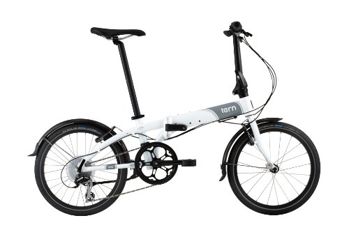 tern(ターン) Link N8 20インチ 8SPEED 折りたたみ自転車 ホワイト/グレー 13LIN8WHGY