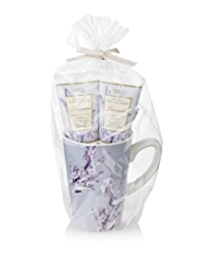 Floral Collection Lavender Mug Gift Set