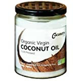 Organic Virgin Coconut Oil 500ml Cold Pressed, COCONUTTY Premium Grade, in Glass Jar, Tamper Sealed, Best Coconut Oil for Oil-Pulling, Spreading, Smoothies, Coffee, Cooking and Skin Care.