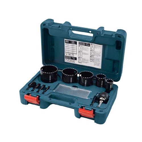 Bosch HDG11 Diamond Hole Saw 11 Piece Set (Bosch Quick Change Mandrel compare prices)