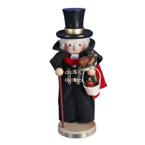 Kurt Adler 18-1/2-Inch Limited Edition Steinbach Christmas Day Scrooge Nutcracker