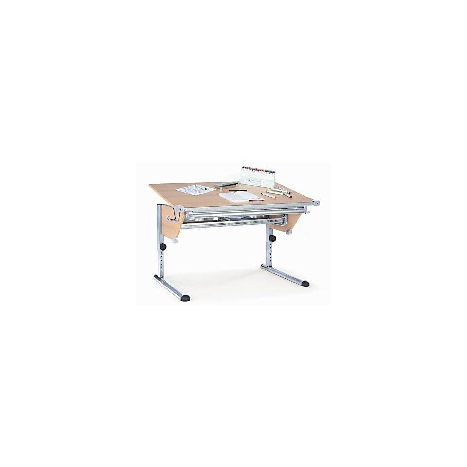 Kettler 06615 272 Cool Plus Schreibtisch Silber Buche On Popscreen