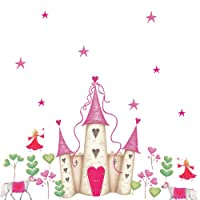 RoomMates YH1328M Princess Castle Wall Decals