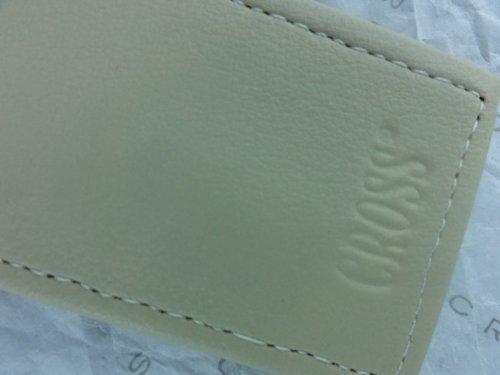 Cross Full Grain Beige Italian Double Pouch Leather Pen