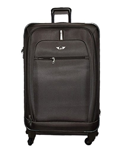 f7f565fb069e Polo House USA 20 inch 4 Wheel Teflon Suitcase Bag