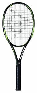 Click here to buy Dunlop Sports Biomimetic 400 Tennis Racquet (3 8 Grip) by Dunlop Sports.
