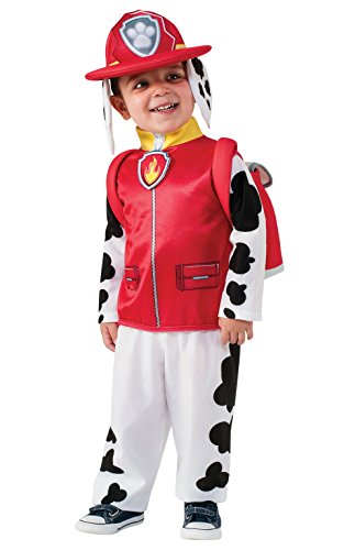 Halloween Costume for a Toddler PAW Patrol Marshall