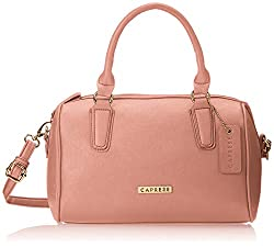 Caprese Trini Women's Satchel (Light Pink)