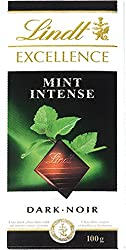 Lindt Excellence Mint Intense Chocolate 100 Grams - Imported; Premium Quality.