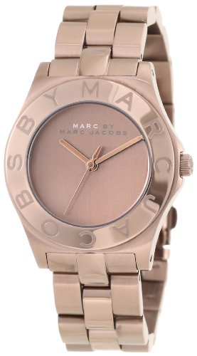 New Marc By Marc Jacobs Mbm3128 Women'S Blade Brown Watch