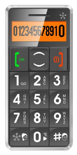 JUST5 J509 Easy to Use Unlocked Cell Phone