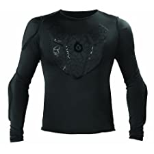 SixSixOne Sub Gear Long Sleeve Shirt (Black, Medium)