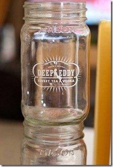 Deep Eddy Vodka Mason Jar