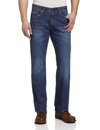 U.S. Polo Assn. Men's Five Pocket Boot Cut Jean,  Blue, 30x30