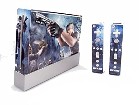 Resident Evil SKIN for Nintendo Wii Consol control N104