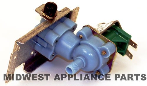 Maytag Amana Whirlpool Refrigerator Icemaker Valve 12490801Replaces the following part numbers:10524601 10524602 10524604 10