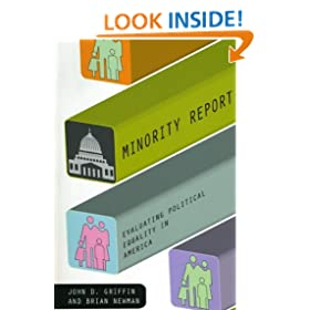 Minority Report: Evaluating Political Equality in America (American Politics and Political Economy Series)