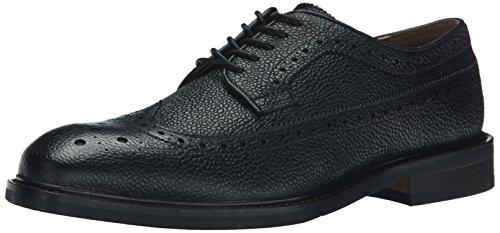 Aldo Men's Agrerradia Oxford, Black Leather, 8 D US