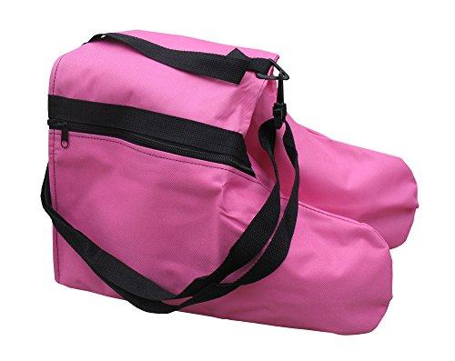AR-Pro-Ice-Figure-Skate-Saddle-Style-Bag-Roller-Blade-Bag-WShoulder-Strap-Hot-Pink-8