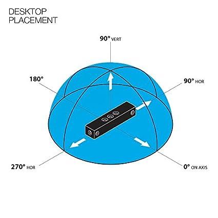 Crystal Acoustics SBT-3-BEU Desktop Speaker