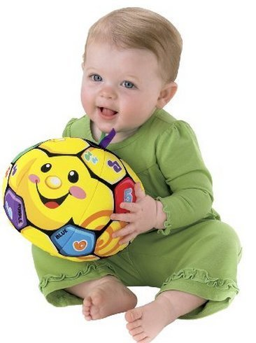 Game / Play Fisher-Price Laugh & Learn Singin' Soccer Ball, fisher, price, toys, puppy, laugh, learn Toy / Child / Kid