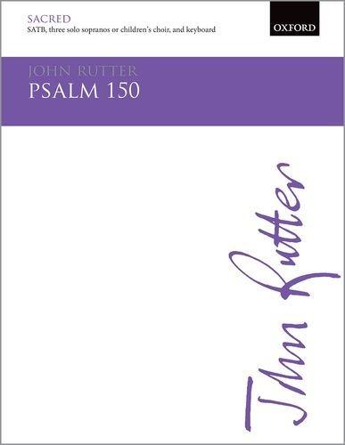 Psalm 150: Vocal score