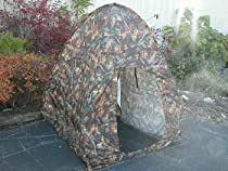 Pop-up Hunting Blind Two Man Real Tree Camouflage with Cammo Bag