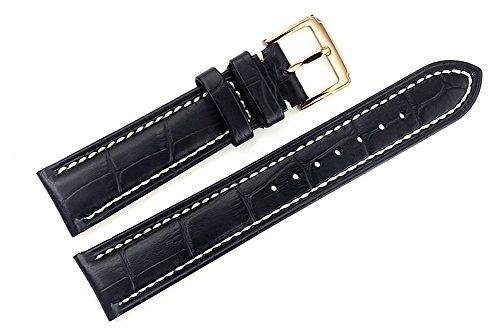 19-mm-negras-hechas-a-mano-pulseras-de-reloj-de-reemplazo-de-cuero-italianas-bandas-del-grosgrain-re