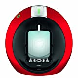 Krups Dolce Gusto Circolo -  Máquina de café (Automática, Flow Stop, 15 bar), color rojo