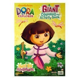Dora the Explorer 11x16 Giant Coloring & Activity Book, 16 Pgs