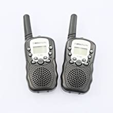 2Pcs T-388 3-5KM 22 FRS and GMRS UHF radio for Child Walkie-Talkie Two-Way Radios