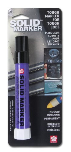 Sakura Solidified Paint Solid Marker, 14 to 392 Degrees F,Multiple Colors Available - 1