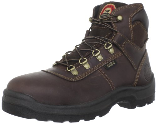 "Irish Setter Men's 83618 6"" Steel Toe Work Boot,Brown,10 EE US"